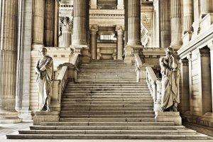 statues at palace