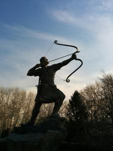 archer with bow